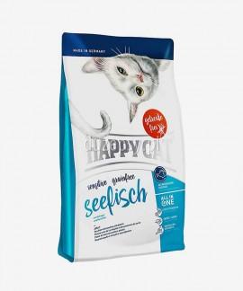 Happy Cat Sensitive Ryby morskie bezzbożowa karma dla kotów wrażliwych 4 kg