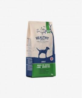 Healthy Paws jagnięcina brązowy ryż karma dla psów dorosłych 100% naturalna 12 kg