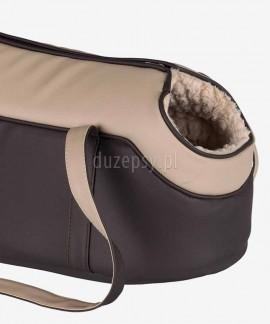Elegancka torba dla kota z eko skóry Trixie - nosidełko LORENA 25 × 29 × 46 cm