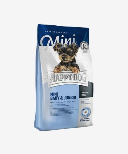 Happy Dog Mini Baby & Junior karma dla szczeniąt psów małych ras do 10 kg