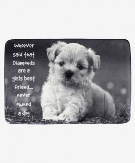 Mata dla małego psa wyściełana legowisko BAILY Trixie 60 × 40 cm