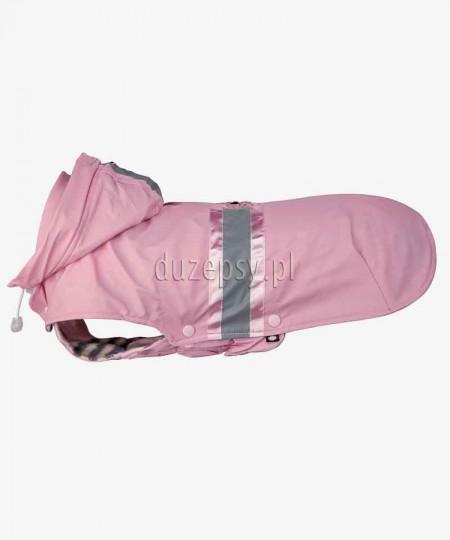 Ubranko dla małego psa kurtka zimowa z kapturem różowa COMO Trixie