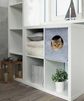 Legowisko dla kota domek ANTON Trixie pasujące do szafki Kallax IKEA