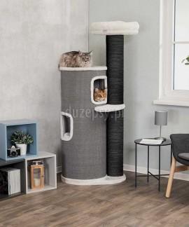 Ekskluzywny drapak dla dużego kota z legowiskiem wieża PIETRO XXL Trixie wys. 168 cm