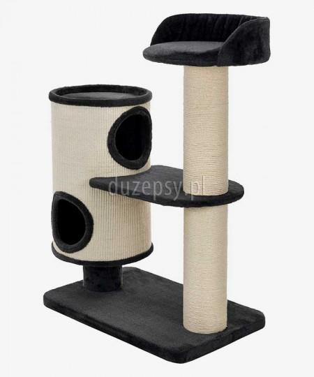 Drapak jutowy dla kota z domkiem i legowiskiem EMILIAN Trixie wys. 108 cm
