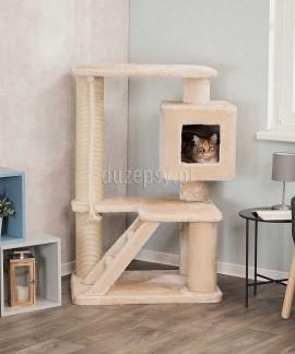 Elegancki drapak dla dużego kota z domkiem JOSEFA Trixie wys. 119 cm