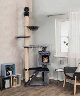 Wysoki drapak dla dużego kota z mocowaniem sufitowym TIZIAN Trixie wys. 220-240 cm