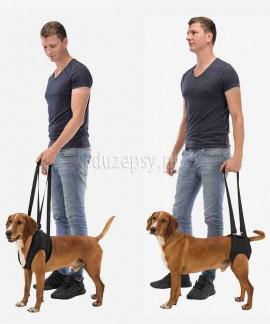 Uprząż rehabilitacyjna dla dużego psa przednia i tylna Trixie