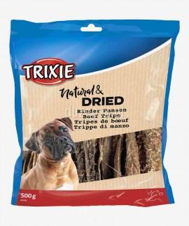 Żwacze wołowe dla psa suszone naturalne przysmaki Trixie