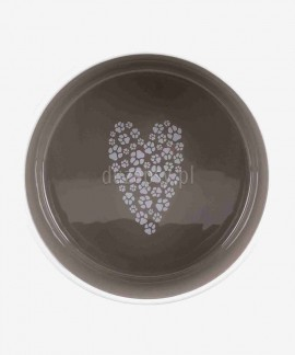 Miska ceramiczna dla psa Pet's Home Trixie, brązowa
