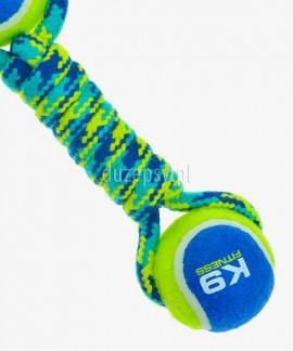 Piłki tenisowe dla psa hantel Zeus K9 Fitness 23 cm