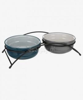 Miski ceramiczne dla psa na stojaku Trixie EAT ON FEET ø 13-20 cm