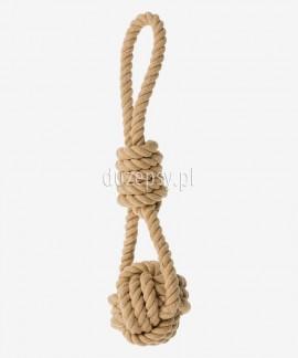 Piłka sznurowa dla psa z uchwytem BE NORDIC Trixie