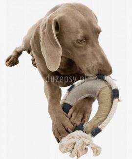 Zabawka dla psa piszcząca koło ratunkowe BE NORDIC ø 30 cm