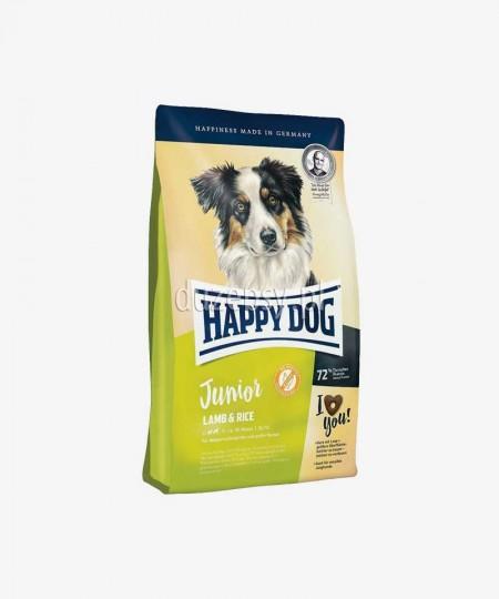 Happy Dog Junior Lamb & Rice karma dla młodych psów dużych i średnich ras 1 kg