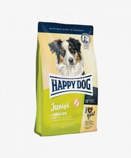 Happy Dog Junior Lamb & Rice karma dla młodych psów dużych i średnich ras 4 kg