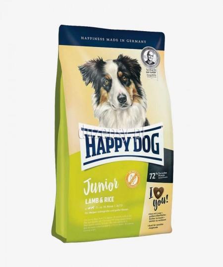 Happy Dog Junior Lamb & Rice karma dla młodych psów dużych i średnich ras 10 kg
