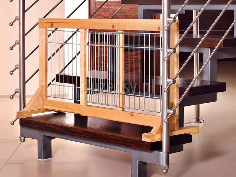 Barierka zabezpieczająca drzwi lub schody dla małych psów i szczeniąt Trixie. Bramka zabezpieczająca rozporowa barierka dla dużego psa Trixie. Bramka zabezpieczająca dla psa, rozporowa barierka dla dużego psa, barierki ochronne dla psa, barierka zabezpieczająca na schody, bramki dla psa Trixie, bramka na schody bez wiercenia, sklep zoologiczny, akcesoria dla psów, duzepsy.pll