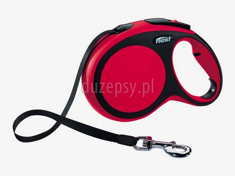 Flexi New Comfort L taśma 8 m smycz automatyczna dla dużego psa do 50 kg, smycze dla psa sklep, smycz dla psa flexi 8 m, smycz dla psa czerwona. Smycz automatyczna dla dużego psa Flexi 8m. Smycz automatyczna Flexi New Comfort 8m. Smycz flexi 8m. Flexi dla psa tanio, smycz flexi dla dużego psa, smycz automatyczna dla psa 8 m, smycze automatyczne, smycz automatyczna 8m, smycze automatyczne taśmowe, smycze Flexi dla psów, smycz flexi taśma, smycze automatyczne z taśmy, smycze flexi dla dużego psa, długie smycze dla psa, smycz wyciągana, smycze wyciągane dla psów, smycze automatyczne dla psów dużych ras, sklep zoologiczny, duzepsy.pl.