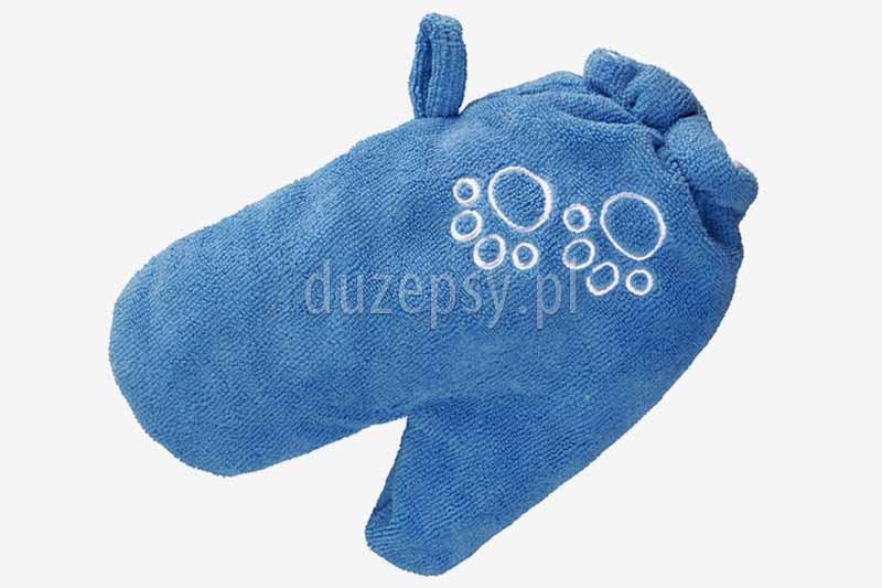 super chłonna rękawica do osuszania sierści psa; rękawica ręcznik do wycierania psa; rękawica do pielęgnacji sierści psa; rękawica Trixie do suszenia sierści; pielęgnacja sierści psa po kąpieli; sklep zoologiczny internetowy; DuzePsy.pl; hurtownia zoologiczna