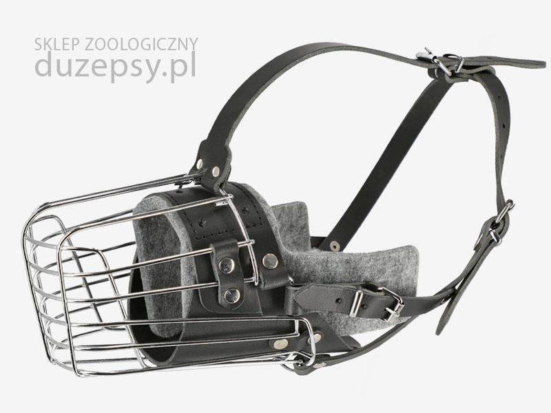 Kaganiec bojowo-szkoleniowy dla dużego psa typu owczarek niemiecki Dingo Gear. Kaganiec bojowy dla owczarka niemieckiego. Kaganiec metalowy dla owczarka niemieckiego. Kagańce dla psów służbowych. Psy służbowe sklep. Mocny kaganiec dla dużego psa. Kaganiec do szkolenia k9.