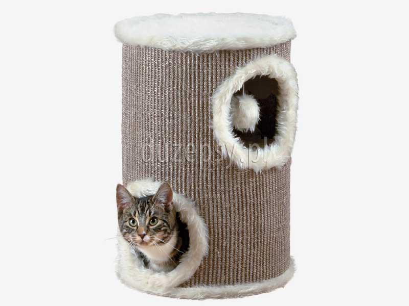 Domek i drapak dla kota wieża, legowisko dla kota z drapakiem domek. Drapak dla kota z domkiem, drapak dla kota sklep, drapak dla kota ragdoll, drapak dla małego kota, domek dla kota z drapakiem, drapaki dla kota, domek dla kota, legowisko dla kota z drapakiem, elegancki drapak dla kota, drapak dla kota Trixie, drapaki z sizalu, tanie drapaki dla kotów, tani drapak dla kota, sklep zoologiczny duzepsy.pl.