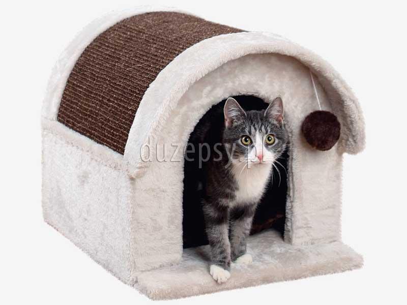 Drapak dla kota z domkiem ARLO Trixie, drapak dla kota sklep, domek dla kota z drapakiem, drapak dla kota Trixie, domki dla kotów, drapak dla kota ragdoll, drapaki dla kota sklep, drapak dla kota bydgoszcz, domek dla kota, legowisko dla kota z drapakiem, elegancki drapak dla kota, drapaki z sizalu, tanie drapaki dla kotów, tani drapak dla kota, sklep zoologiczny duzepsy.pl.