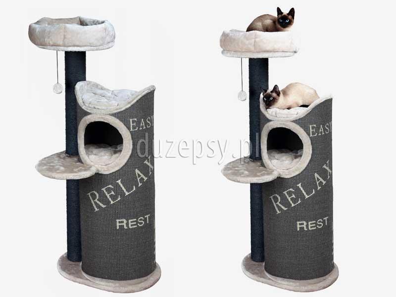Wysoki drapak dla kota, ekskluzywny drapak dla kota; drapak dla kota z domkiem; drapak dla kota wieża; drapak dla dwóch kotów, elegancki drapak dla kota; domek dla kota z drapakiem Trixie; drapak dla kota 130 cm, duże drapaki dla kota; domek dla kota; drapak dla kota mainecoon, drapak dla kota ragdoll; drapak dla kota sklep internetowy; drapak dla kota Trixie; drapaki z sizalu; drapaki dla kotów sklep online; sklep zoologiczny; hurtownia zoologiczna; duzepsy.pl; drapaki Trixie