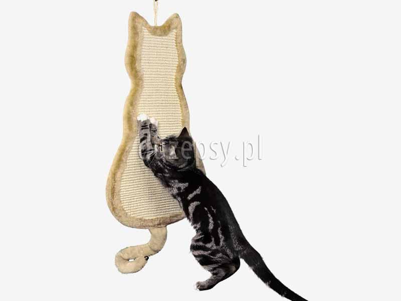 Drapak dla kota z sizalu zawieszany na ścianę, drapaki dla kota z sizalu. Drapak dla dużego kota, drapak dla kota mainecoon. Drapak dla kota tanio. Drapaki dla kotów, tanie drapaki dla kota, płaski drapak dla kota, drapak na drzwi, drapak dla kota na ścianę, tani drapak dla kota, akcesoria dla kotów sklep zoologiczny duzepsy.pl