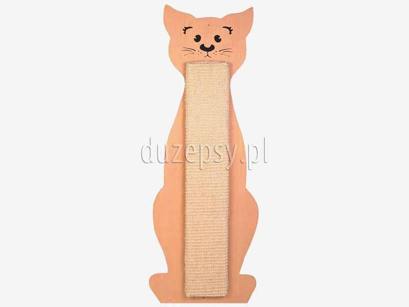 Drapak dla kota z sizalu KOT DUŻY nasączony kocimiętką. Drapak płaski na ścianę. Drapak dla kota na ścianę. Drapak dla kota tanio. Drapaki dla kotów tanio. Drapak nasączony kocimiętką. Drapak z sizalu dla kota. Tanie drapaki dla kotów. Duży drapak na ścianę. Drapak dla kota drewniany, drapak dla kota sklep internetowy, drapak dla kota na drzwi, drapak dla kota płaski, drapak dla kota w kształcie kota, drapak dla kota 60 cm. Drapaczka dla kota. Drapaki dla kotów sklep zoologiczny Duzepsy.pl.