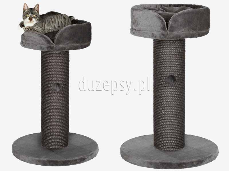 Drapak dla kota szary, drapak dla kota z legowiskiem, drapaki dla kota Trixie. Drapak dla kota z sizalu, drapak dla kota z legowiskiem; elegancki drapak dla kota, legowisko dla ragdolla; drapak dla kota słupek; drapak z sizalu; drapak dla kota ragdoll; drapaki dla kotów; drapak dla kota brytyjskiego, drapak dla kota wysoki, drapaki dla kotów sklep; drapak dla dużego kota, drapak dla kota exclusive; sklep zoologiczny; hurtownia zoologiczna; duzepsy.pl; drapaki Trixie; akcesoria dla kotów; duzepsy.pl