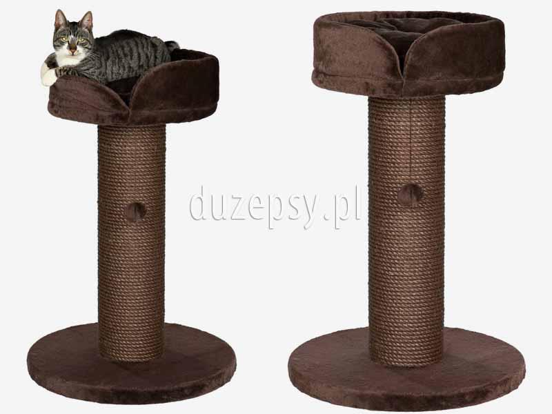 Drapak dla kota z legowiskiem TARIFA Trixie. Drapak dla kota z juty. Drapak dla kota słupek z półką; elegancki drapak dla kota; drapak dla kota tanio; drapak z sizalu; drapak dla kota słupek; tanie drapaki dla kotów; drapak dla kota brytyjskiego, drapak dla kota wysoki, drapaki dla kotów; drapak dla dużego kota, tani drapak dla kota; sklep zoologiczny; hurtownia zoologiczna; duzepsy.pl; drapaki Trixie; akcesoria dla kotów; duzepsy.pl