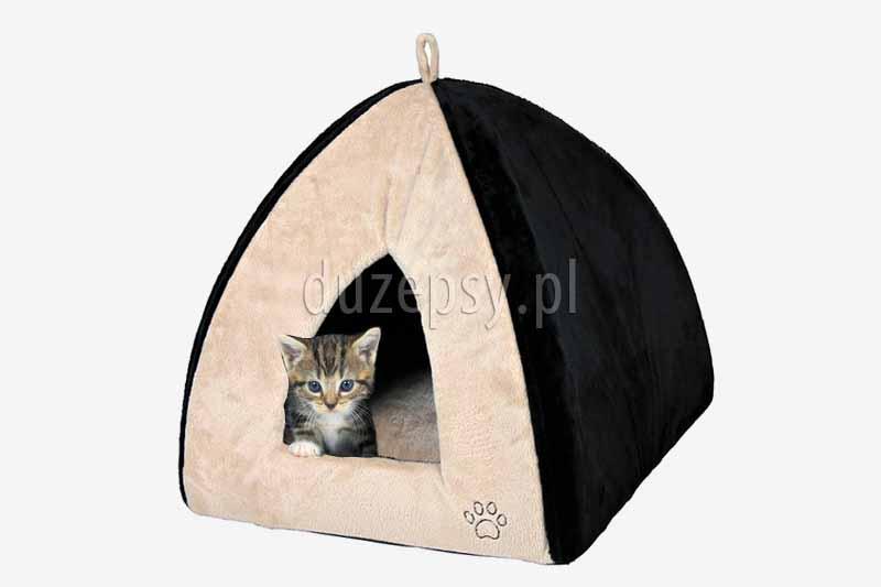 Legowisko dla kota domek GINA. Legowisko dla dużego kota. Domki dla kotów. Legowiska dla kotów tanio, budki i legowiska dla kotów, dla kotów domki, dla kotów sklep, akcesoria dla kotów, dla kota i psa sklep, akcesoria dla kota, akcesoria dla kotów, sklep zoologiczny duzepsy.pl.