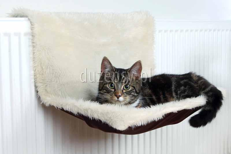 legowisko dla kota na kaloryfer Trixie, legowiska dla kotów na kaloryfer, legowisko na kaloryfer, przytulne legowisko dla kota; legowiska dla kotów; akcesoria dla kotów; legowisko dla kota, ciepłe legowiska dla kota; sklep zoologiczny; duzepsy.pl