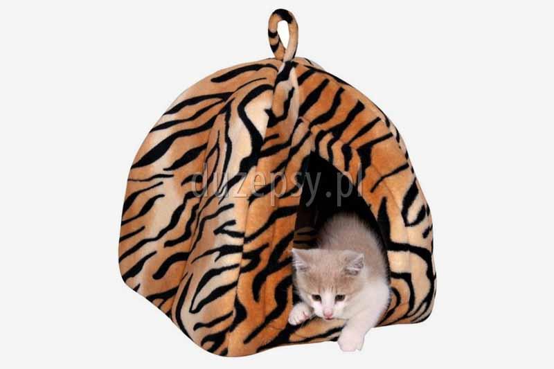 Legowisko dla kota domek NERO Trixie, legowisko dla kota sklep, legowisko dla kota trixie, domki dla kotów. Legowiska dla kota tanio, legowisko dla kota budka.