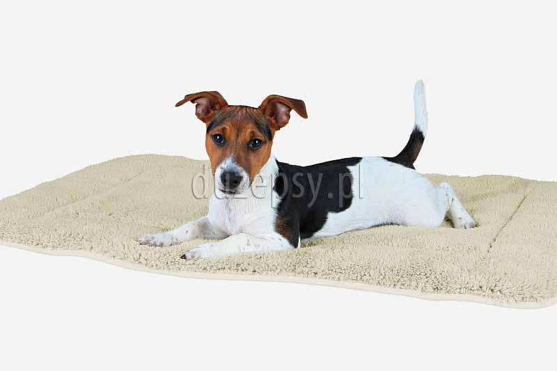 Legowisko dla psa mata DORIEN Trixie 95 × 68 cm. Legowiska dla psów tanio. Maty dla psów. Ciepła mata dla psa. Legowisko dla psa do klatki. Mata do klatki dla psa. Miękki kocyk dla psa. Posłanie dla psa.