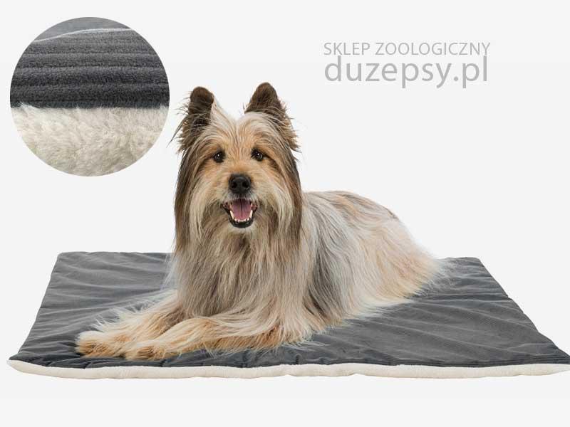 dwustronna mata dla psa szara; mata dla psa 100 x 70 cm; ciepła mata dla psa; mata dla psa średniego; legowiska dla psa trixie; legowisko dla dużego psa; legowiska dla psów; materac prostokątny; legowiska dla psa sklep; legowiska Trixie; legowisko dla psa boksera; legowisko dla psa 100x70