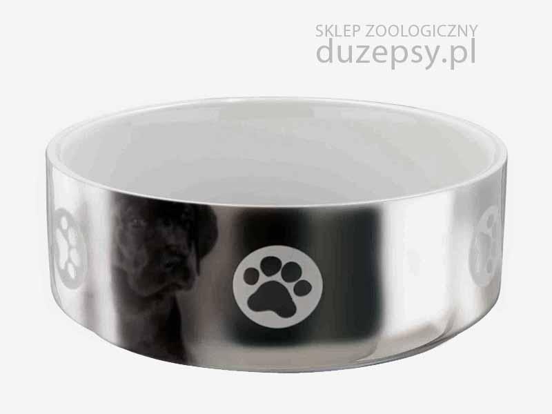 miska ceramiczna dla psa, miska dla psa biało-srebrna, miska dla psa ceramiczna, miski dla psa Trixie, elegancka miska dla psa; miski dla psa sklep; miski dla psów; miski porcelanowe dla psów; eleganckie miski dla psów; miska porcelanowa dla psa; ceramiczna miska dla psa; akcesoria dla psów; miski ceramiczne dla psów; sklep zoologiczny; DuzePsy.pl