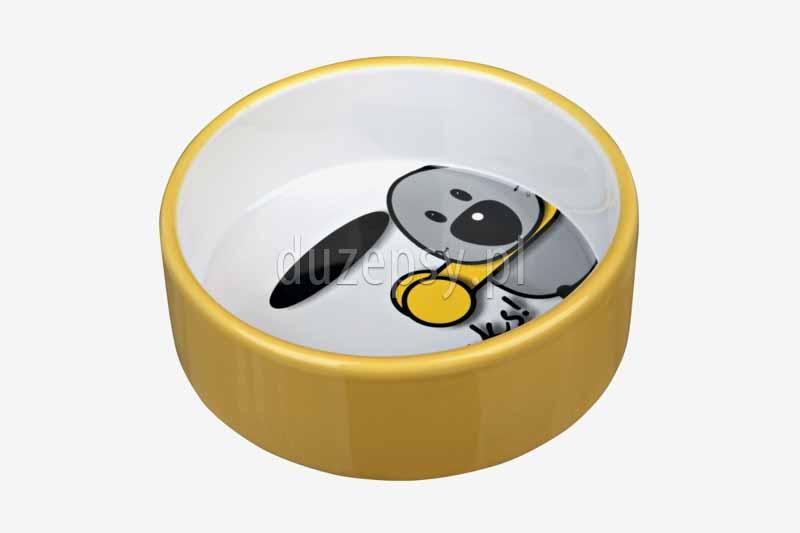 Miska ceramiczna dla psa BUDDY Trixie. Miski ceramiczne dla psów tanio. Miski porcelanowe dla psa. MIska porcelanowa dla psa. Ładne miski dla psów oferuje sklep zoologiczny duzepsy.pl