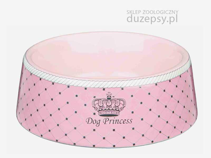 Miska ceramiczna dla psa; miska dla psa różowa; miski dla psa sklep; miski dla psów; miska Princess; miski dla psa Trixie; elegancka miska dla psa; miska dla yorka różowa; różowe akcesoria dla psa; miska porcelanowa dla psa; miski dla małego psa; miski dla psów sklep