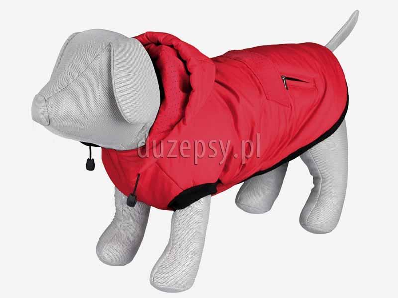 Kombinezon dla psa kurtka zimowa z odpinanym kapturem PALERMO Trixie. Kurtka zimowa dla psa. Kombinezon dla psa. Ubranka dla psów. Płaszczyk dla psa. Kurtka dla yorka. Płaszczyk dla psa zimowy. Ubranka dla psów. Ubranko dla yorka na zimę sklep zoologiczny Duzepsy.pl
