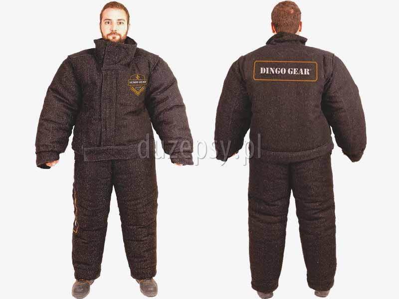 Kurtka do pełnego gryzienia dla pozoranta do mondioringu DINGO GEAR. Spodnie treningowe dla pozoranta K9.