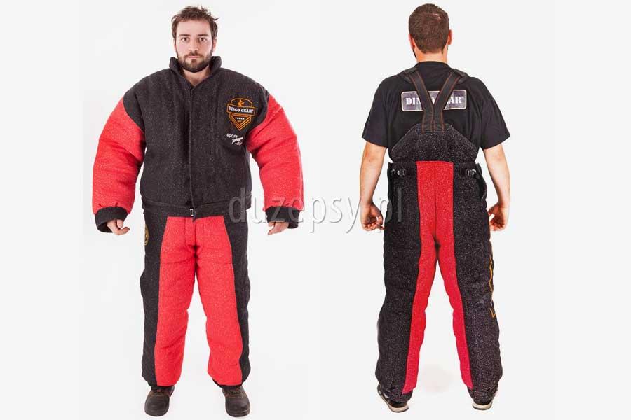 Ubranie treningowe do sportów ringowych - mondioring, ring francuski DINGO GEAR. Ubranie do mondioringu treningowe.