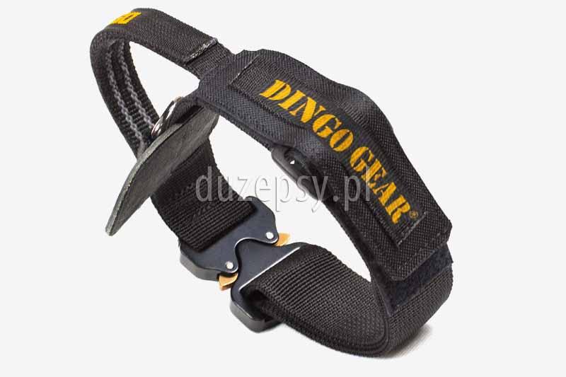 Obroża z uchwytem do szkolenia psa extra mocna COBRA Dingo Gear. Extra mocna obroża dla psa z uchwytem do szkolenia K-9. Mocna obroża dla dużego psa. Obroża dla owczarka. Obroże dla psów dużych ras do szkolenia. Obroża dla owczarka niemieckiego. Obroza dla duzego psa z uchwytem. Obroże dla dużego psa oferuje sklep zoologiczny internetowy DuzePsy.pl