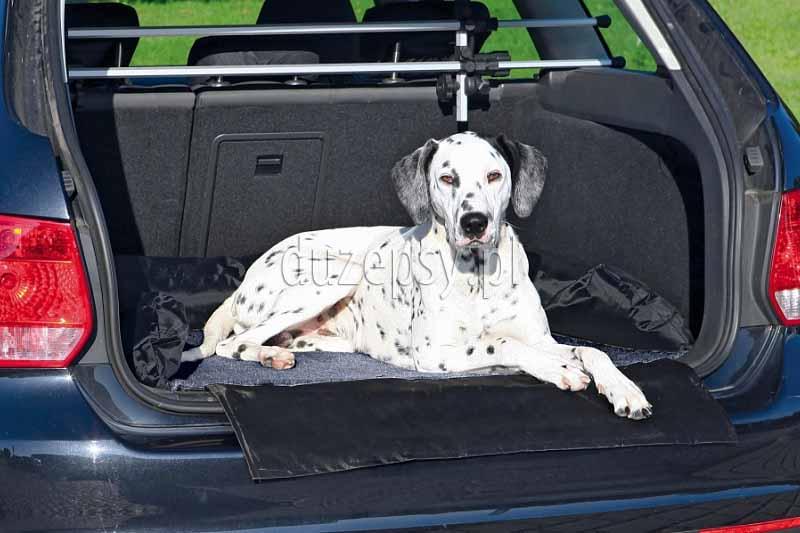 Mata samochodowa do bagażnika - legowisko dla psa Trixie 95 × 75 cm. Mata samochodowa do bagażnika dla psa. Mata dla psa do samochodu. Mata do bagażnika dla psa. Mata dla psa Trixie. Mata ochronna do bagażnika. Mata samochodowa dla psa. Maty samochodowe dla psa. Legowisko dla psa do samochodu. Sklep zoologiczny Duzepsy.pl