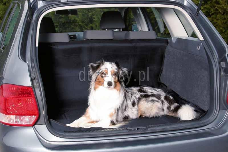 Mata do bagażnika dla psa Trixie 120 × 150 cm. Mata samochodowa do bagażnika dla psa, mata ochronna do bagażnika samochodu, maty ochronne do bagażnika, mata do bagażnika samochodu do przewozu psa, akcesoria do samochodu do podróżowania z psem, maty ochronne do samochodu, duża mata ochronna do samochodu, hamak dla psa do samochodu, podróżowanie z psem, mata dla psa do bagażnika kombi, akcesoria do samochodu do jazdy z psem oferuej sklep zoologiczny duzepsy.pl