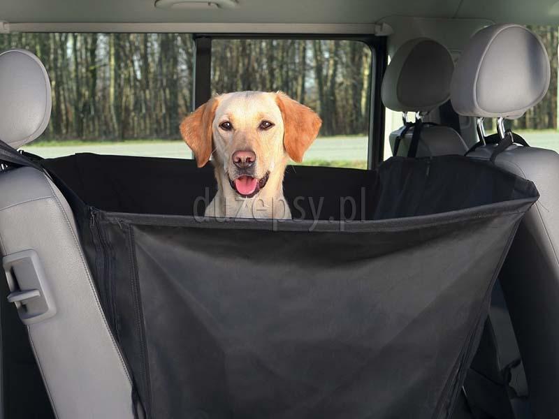 Mata do samochodu dla psa z wysokimi bokami, mata kojec dla psa do samochodu; Mata ochronna do samochodu dla psa; maty dla psa do samochodu; pokrowiec do samochodu dla psa; mata ochronna na siedzenia do samochodu; sklep zoologiczny; DuzePsy.pl; hurtownia zoologiczna; mata ochronna na siedzenia samochodu