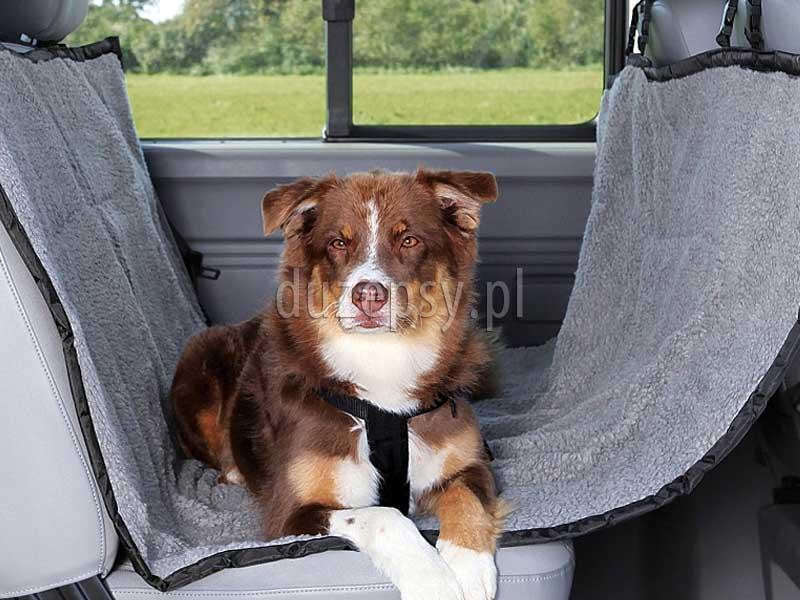Trixie mata samochodowa dla psa; mata ochronna do samochodu dla psa; ciepła mata dla psa do samochodu; duża mata ochronna na siedzenia samochodu; maty dla psa do samochodu; pokrowiec do samochodu dla psa; mata ochronna na siedzenia do dużego samochodu; sklep zoologiczny; hurtownia zoologiczna; DuzePsy.pl; mata do samochodu do przewozu psów