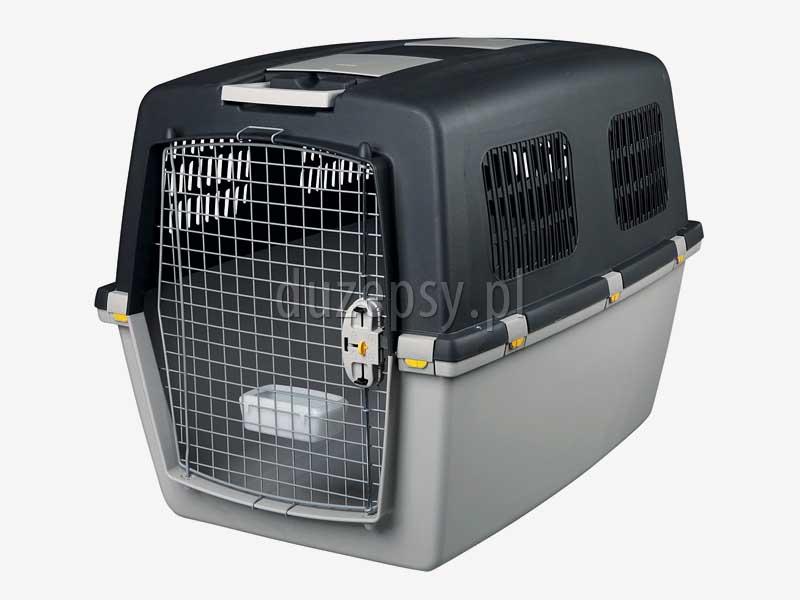 Transporter dla dużego psa do samolotu, transportery dla psa do samolotu, transporter Gulliver 7, transporter dla psa do samochodu, transporter plastikowy dla dużego psa, box plastikowy do transportu psa, transportery dla psów, klatka dla psa do samochodu, klatka transportowa dla psa, transporter dla psa na kółkach, sklep zoologiczny, hurtownia zoologiczna, duzepsy.pl.