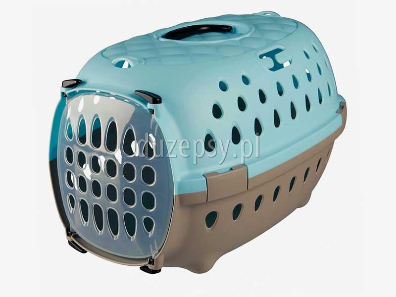 Transporter dla małego psa TINOS Trixie 6 kg - 35 × 32 × 50 cm. Transporter plastikowy dla małego psa. Transportery dla małego psa. Transportery dla psów. Box transportowy dla małego psa. Sklep zoologiczny internetowy DuzePsy.pl